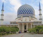 The main mosque in Shah Alam Royalty Free Stock Images