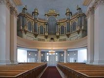 Main organ of Helsinki Cathedral, Finland Stock Image