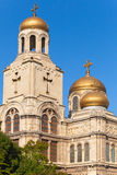 Main Orthodox Cathedral. Varna, Bulgaria Royalty Free Stock Images