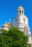 Main Orthodox Cathedral of Varna, Bulgaria Royalty Free Stock Images