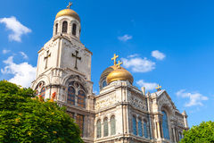 Main Orthodox Cathedral of Varna city,  Bulgaria Stock Image