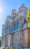 Main Orthodox Cathedral of Varna city, Bulgaria Royalty Free Stock Photos