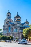 Main Orthodox Cathedral of Varna city, Bulgaria Royalty Free Stock Images