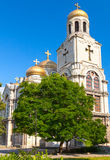 Main Orthodox Cathedral of Varna city, Bulgaria Royalty Free Stock Photos