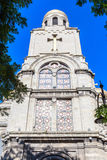 Main Orthodox Cathedral of Varna city in Bulgaria Royalty Free Stock Photos