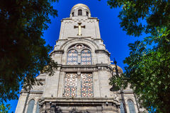 Main Orthodox Cathedral of Varna city in Bulgaria Stock Photo