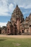Main pagoda at Phanom Rung temple in Buriram Thailand Royalty Free Stock Image