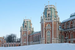 Main palace of Tsaritsyno estate Stock Photos