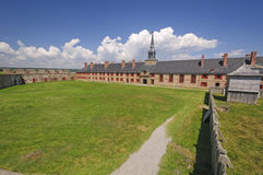 Main Parade Ground in a Historical Fortress Royalty Free Stock Photography
