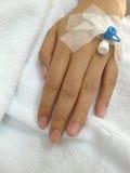 Main patiente Image libre de droits