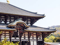 Main pavilion of Todaiji temple, Nara, Japan 1 Royalty Free Stock Photos