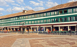 Main Plaza of Almagro, Spain Royalty Free Stock Photo