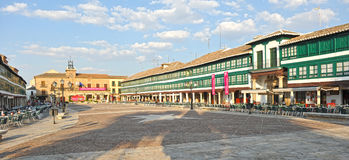 Main Plaza of Almagro, Spain Royalty Free Stock Photos