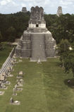 Main Plaza Tikal Royalty Free Stock Photos