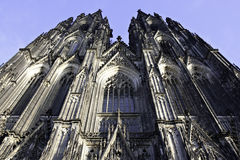 Main Portal Cathedral of Cologne Stock Photos