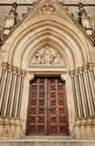 Main portal of the cathedral Stock Photos