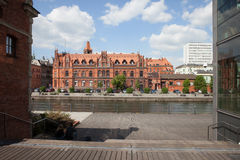 Main Post Office Building in Bydgoszcz Stock Photography