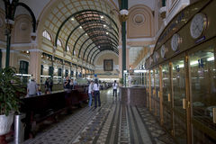 Main Post office Ho Chi Minh City, Vietnam. Is an architecture Featured Royalty Free Stock Photo