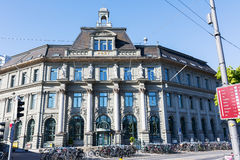 The main post office in Lucerne Royalty Free Stock Photography
