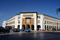 The main post office in Rabat, Morocco Royalty Free Stock Images