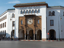 Main post and telephone office of Rabat. Morocco. Stock Images