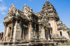 The Main Prang. The stone ruins at Pimai near Nakorn Rajsima. The Main Prang is made of white sandstone Stock Images