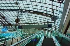 The main railway station in Berlin Stock Photography