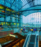 The main railway station in Berlin Stock Images