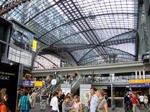 Main Railway station in Berlin Stock Photo