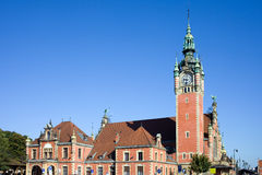 Main Railway Station in Gdansk Royalty Free Stock Photography