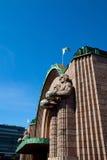 Main railway station, Helsinki, Finland Royalty Free Stock Images