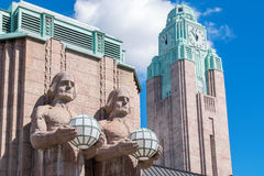 Main Railway Station. Helsinki, Finland Stock Image