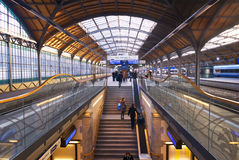 Main Railway station in Wroclaw, the European capital of culture 2016 Royalty Free Stock Images