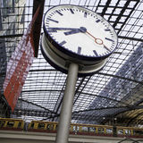 The main railway stationin Berlin Royalty Free Stock Image