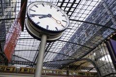 The main railway stationin Berlin Stock Image