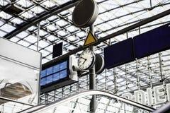 The main railway stationin Berlin Royalty Free Stock Photo