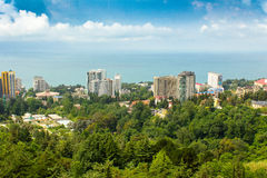 The main resort of Russia - Sochi Royalty Free Stock Photography
