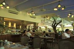 Main restaurant in the Anthemus Sea Beach Hotel. Stock Photography