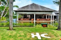 Main restoraunt of Hotel Catalonia Royal Bavaro in Dominican Republic. Royalty Free Stock Photography