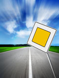 Main road Royalty Free Stock Images