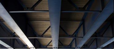 Main road bridge Stock Image