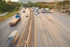 Main road Royalty Free Stock Photo
