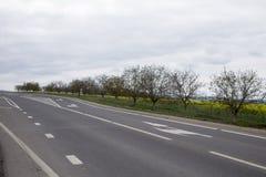 Main road. Stock Photo