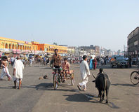 Main road in Puri Royalty Free Stock Image