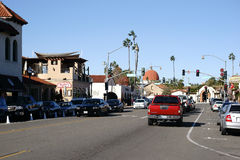 Main road San Juan Capistrano Royalty Free Stock Images