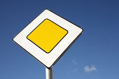 Main road sign Royalty Free Stock Image
