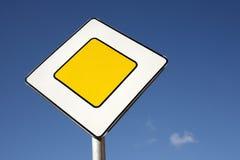 Main road sign Royalty Free Stock Image