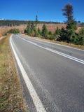 Main road to High Tatras from Strba Stock Images