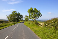 Main road and vale of york Royalty Free Stock Photo