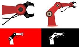 Main robotique illustration de vecteur